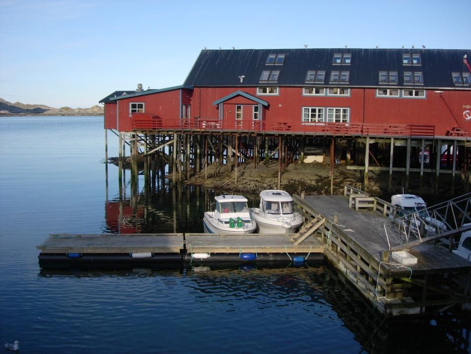 Fishing harbour in the Lofoten Islands