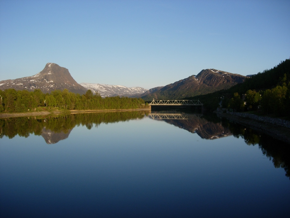Mountains and Fjords III