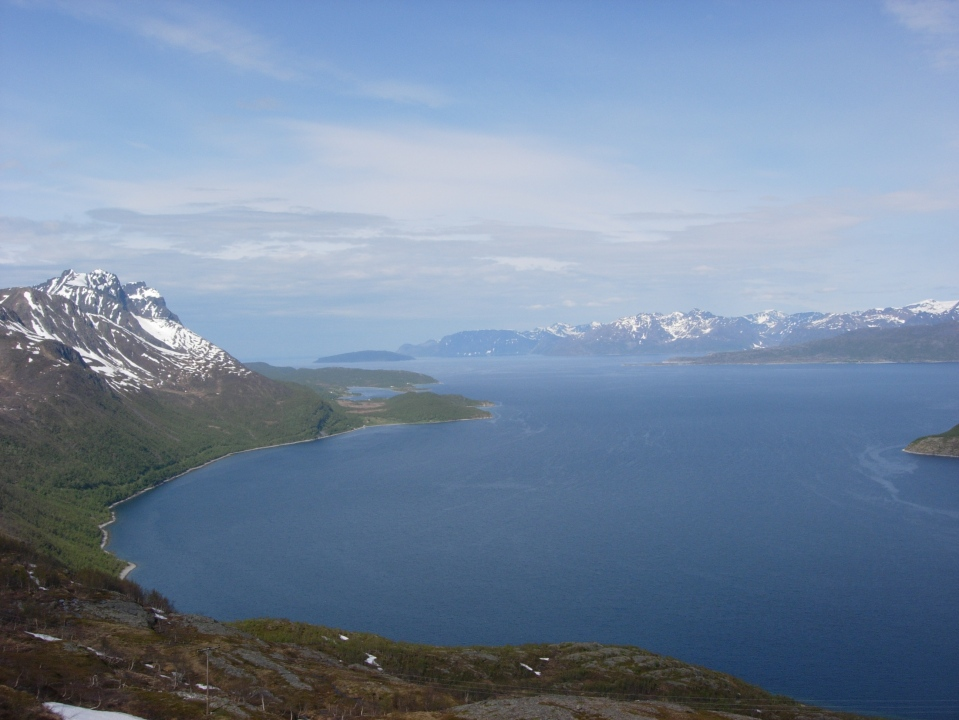 Mountains and Fjords II