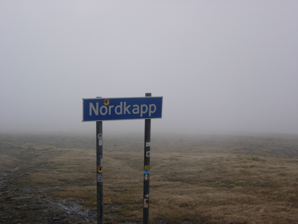 Approaching Nordkapp, the top of Europe