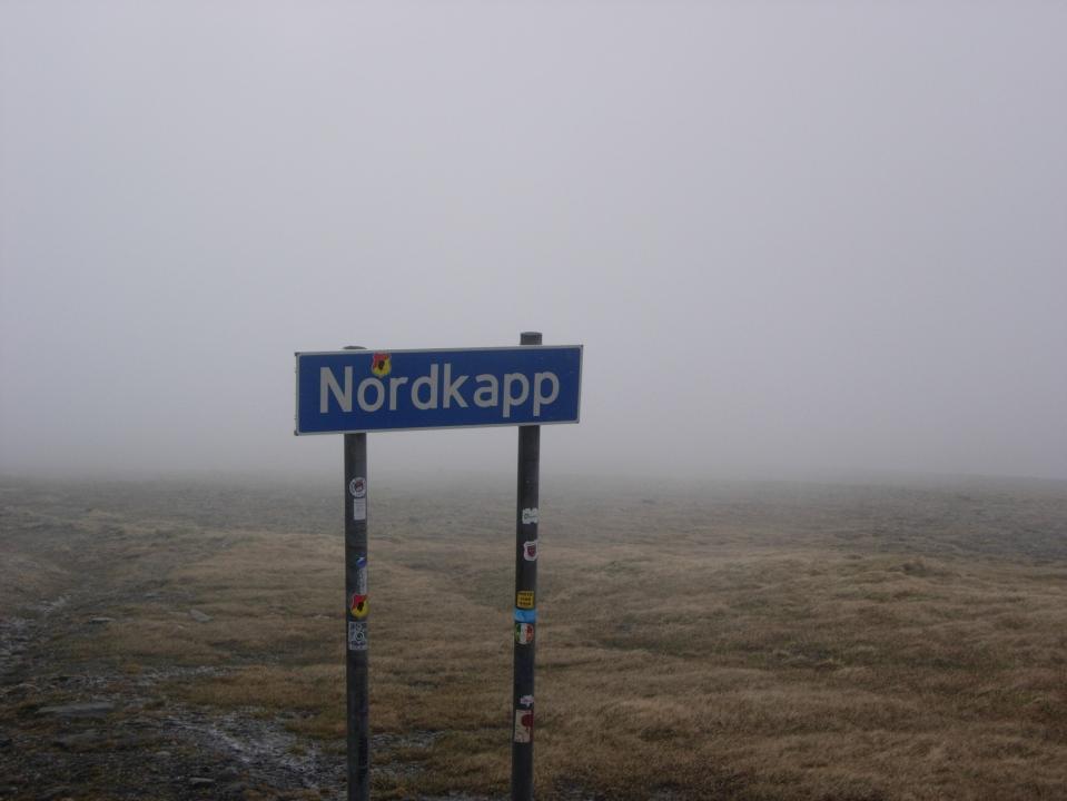 Approaching Nordkapp, the top of Europe
