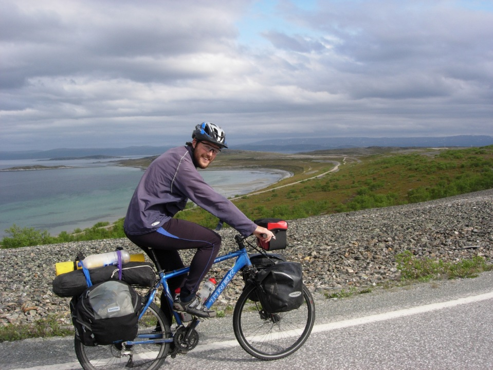 Cycling above the Arctic Circle