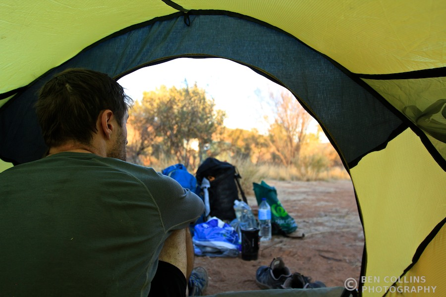 Camping in the Outback, Australia
