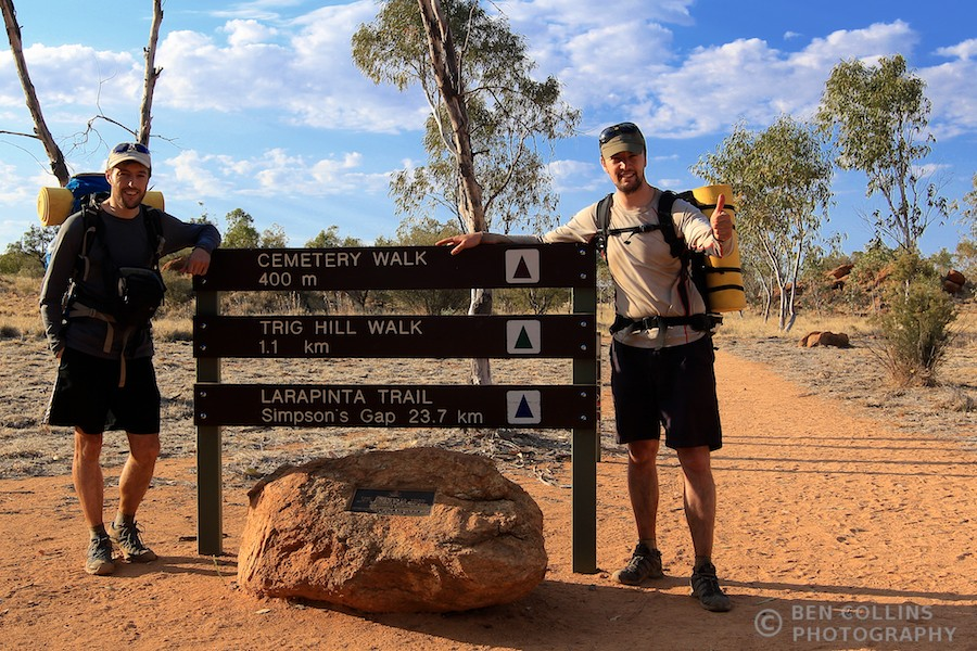 Trailhead, Larapinta Trail, Australia