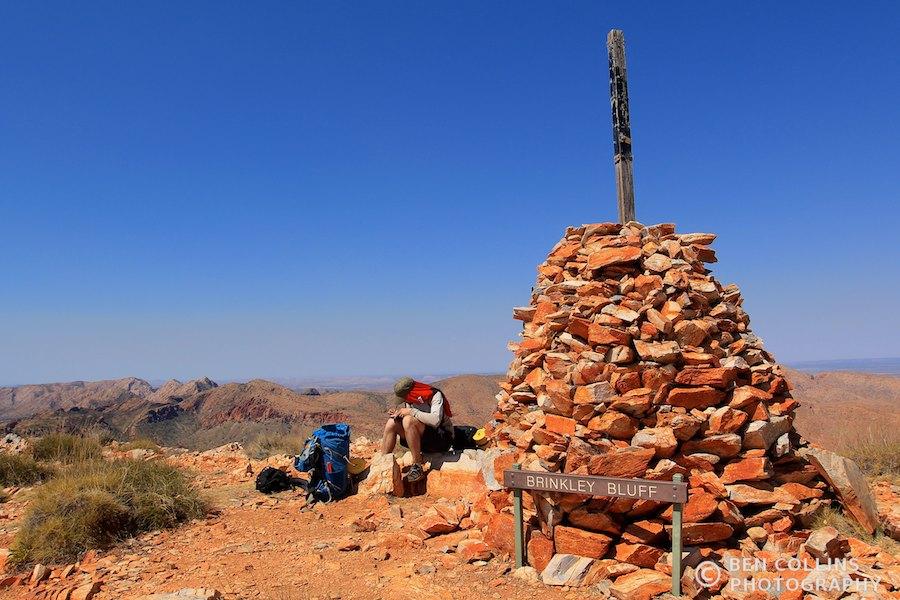 Summit of Brinkley Bluff, Larapinta Trail, Australia