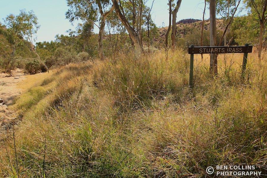 Stuart's Pass, Larapinta Trail, Australia