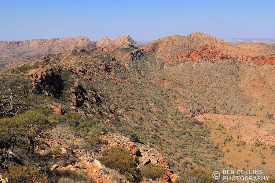 The country ahead, Larapinta Trail, Australia