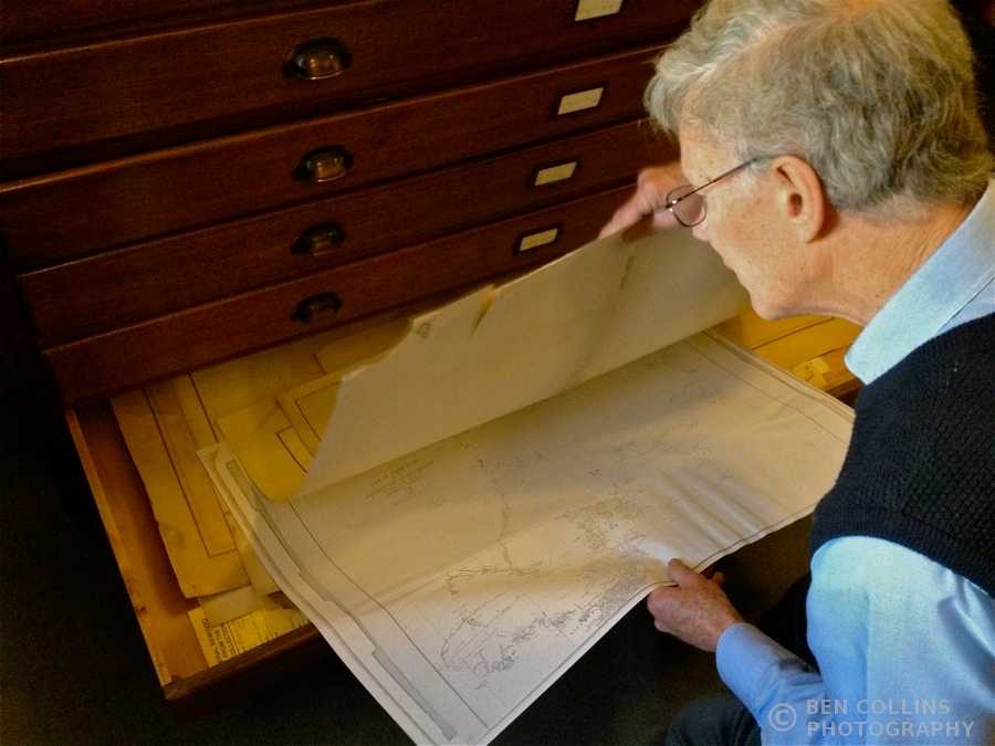 Old facsimile maps, Royal Geographical Society of South Australia
