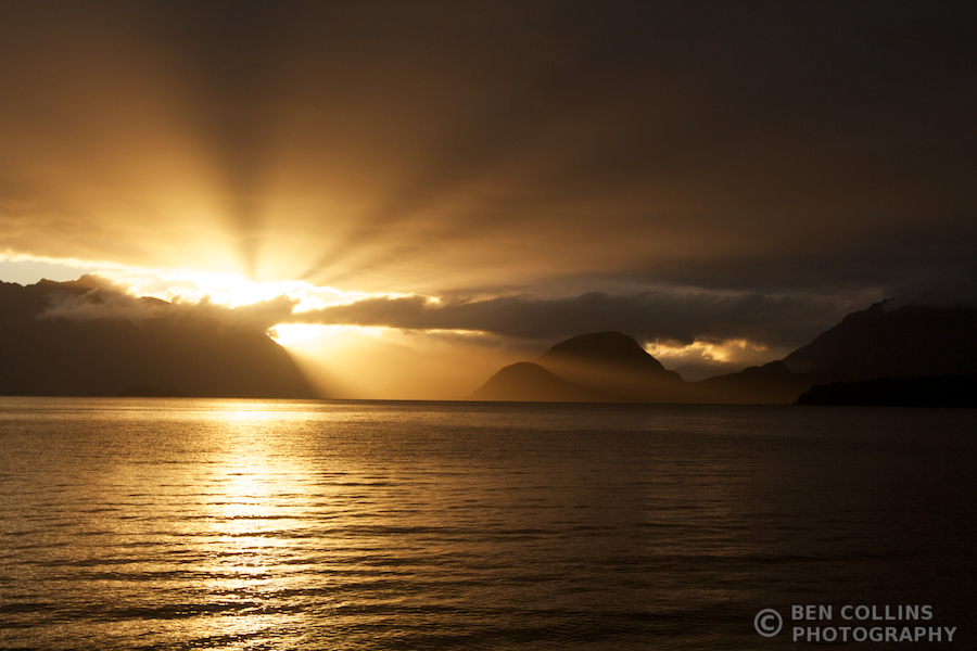 Lake Manapouri Sunset 2