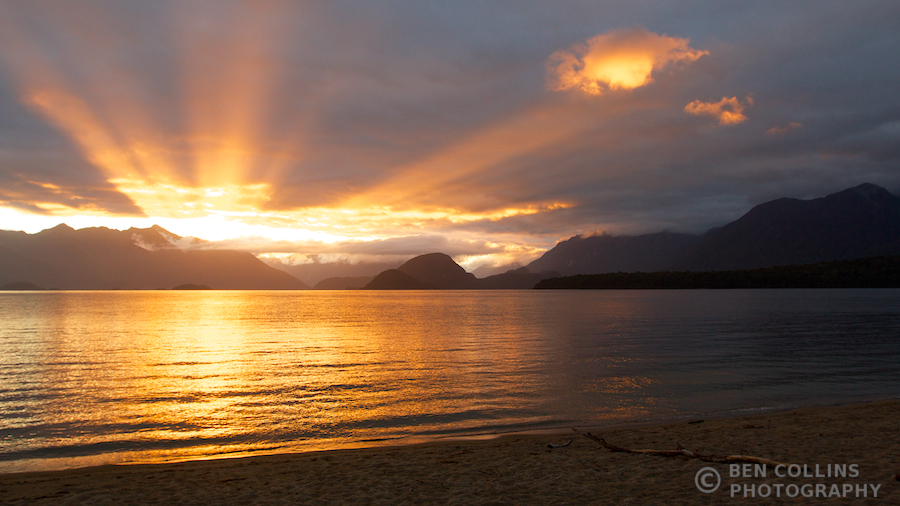 Lake Manapouri Sunset 3