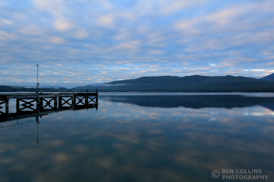 Dawn, Lake Te Anau