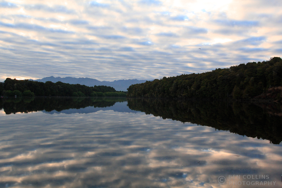 Dawn, Lake Manapouri