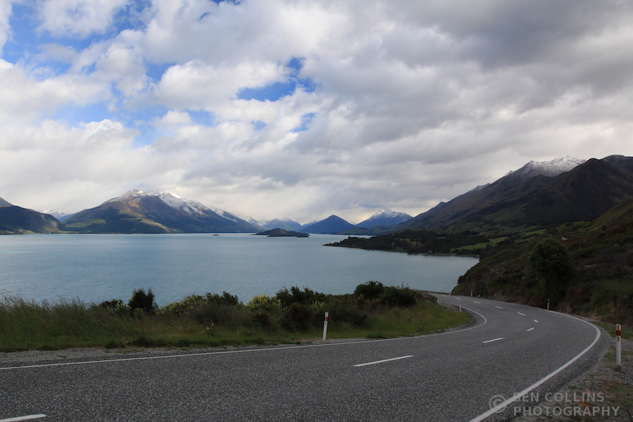 Road to Glenorchy, en route to Black Peak