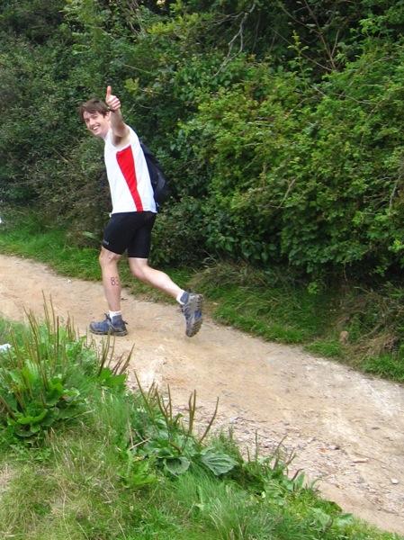 Off running again!