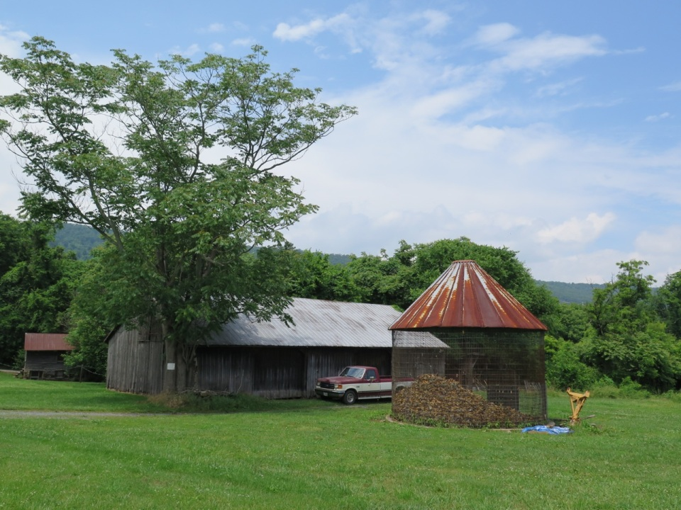 Corn dryer, Mountain Road, Virginia