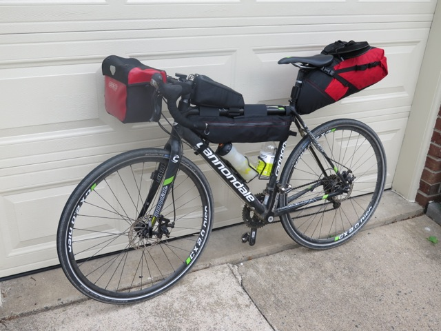 Goodbye to the panniers