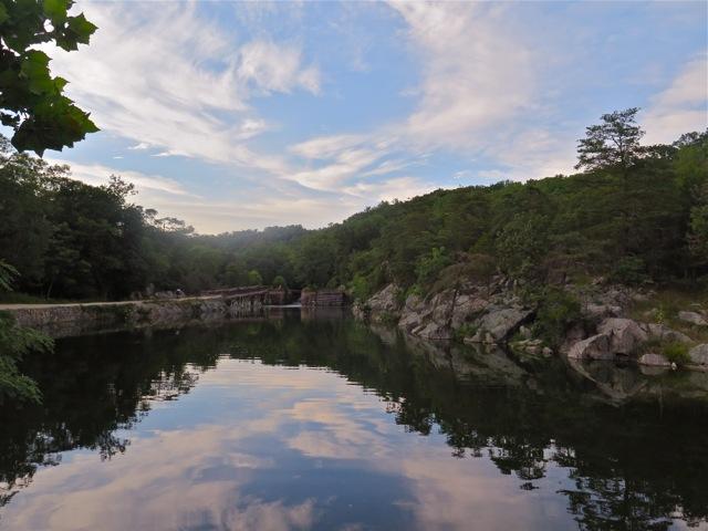 Evening reflection near Great Falls