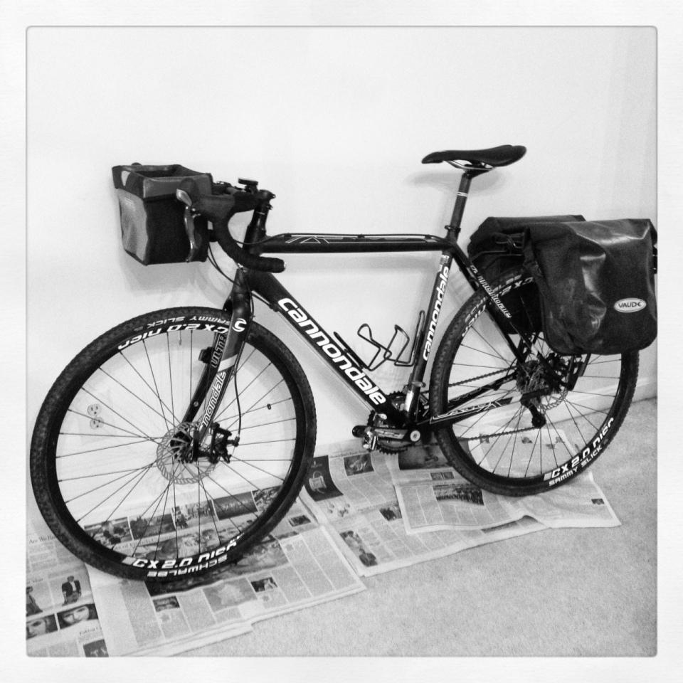 Cyclocross bike for tour