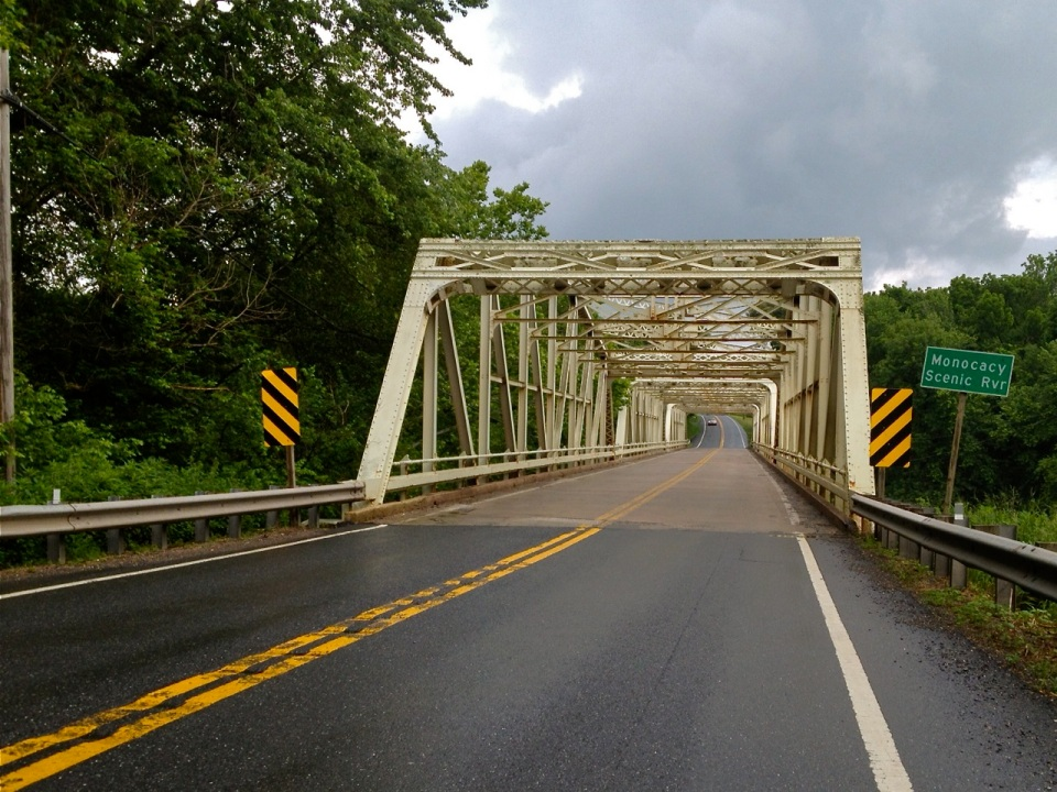 Bridge over Monocacy Scenic River