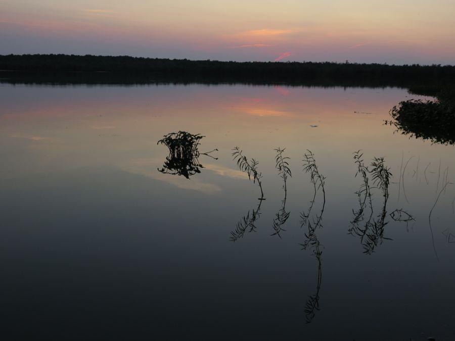 Sunset over Lake Neatahwanta