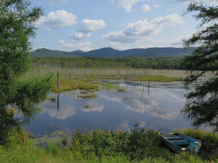 Lake in the Adirondacks