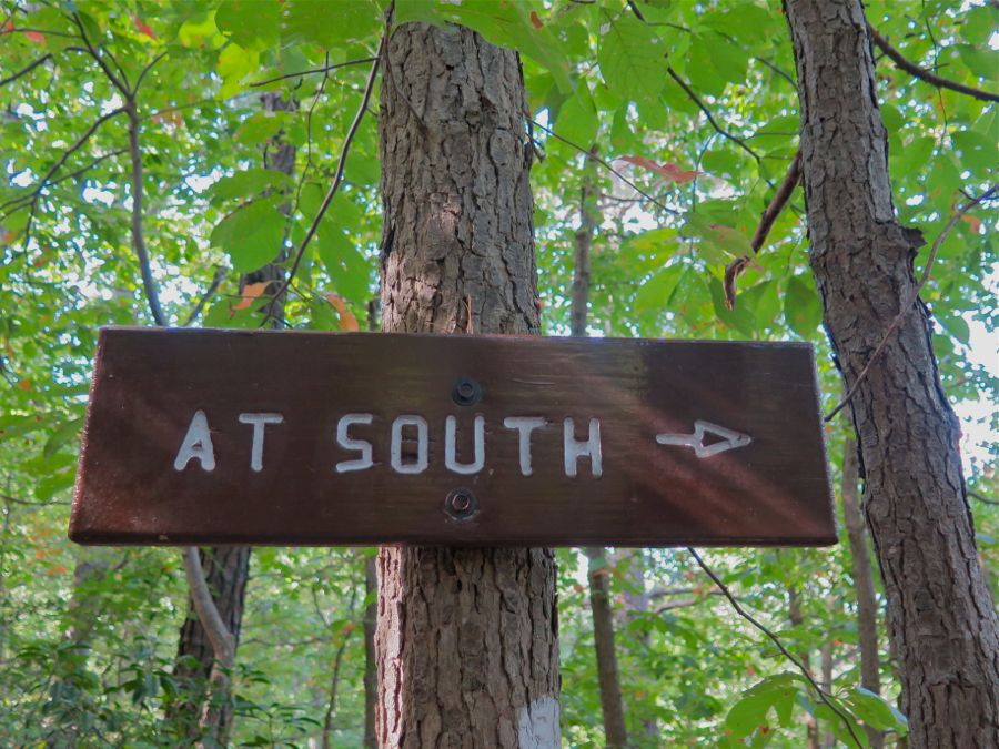 AT South sign