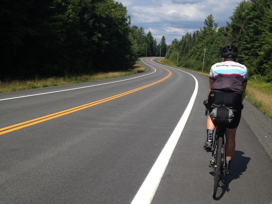 Pete cycling