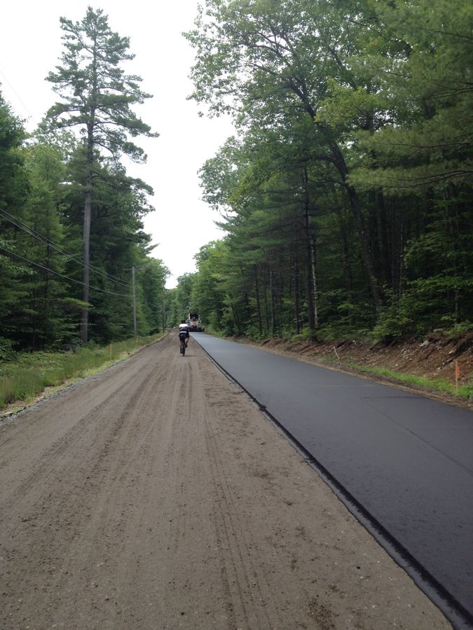 New road in Maine