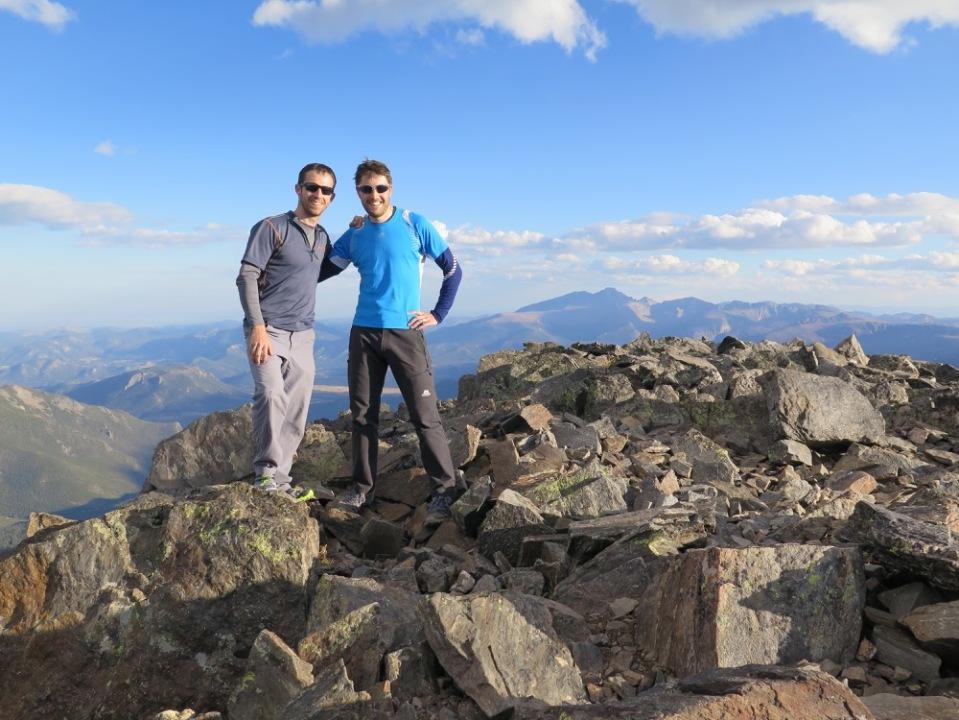 On the summit of Mount Ypsilon