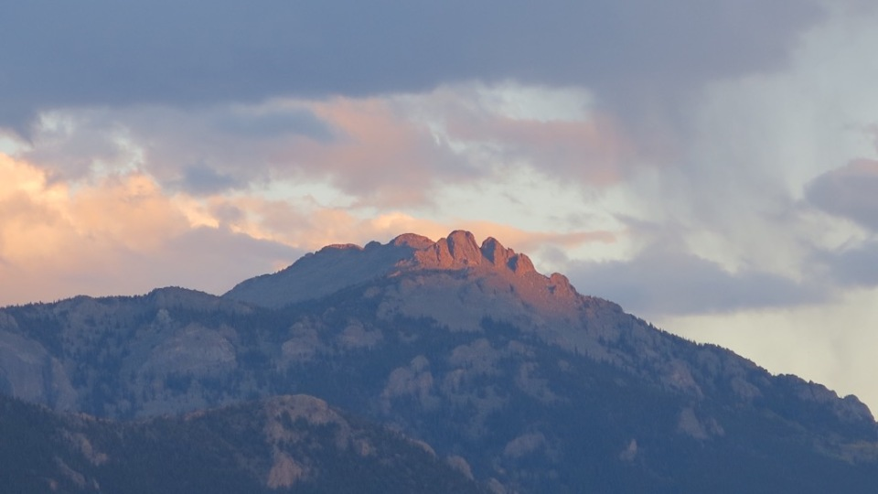 Rockies Sunset