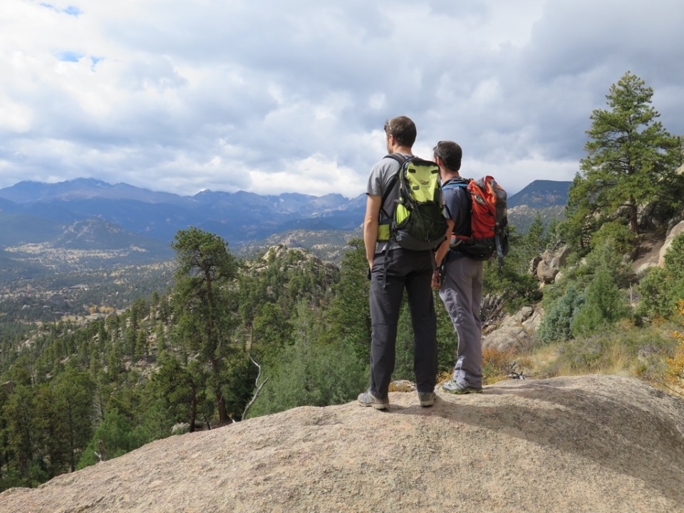 Hiking near Estes Park