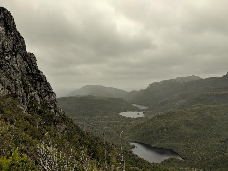 Barron Pass lookout
