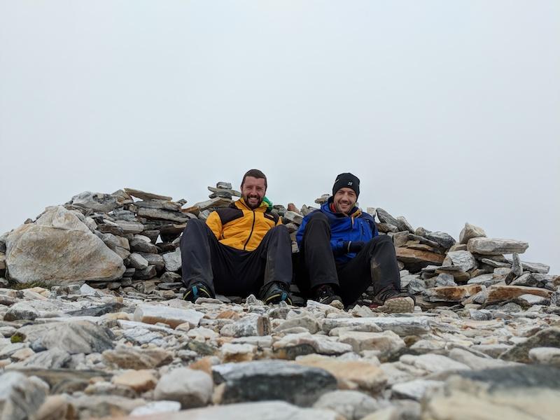 Summit of Frenchman's Cap
