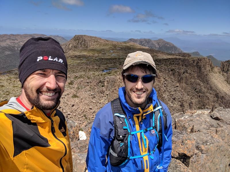 Summit of Mt Field West